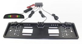Senzori parcare pe suportul de numar cu display LED S300L